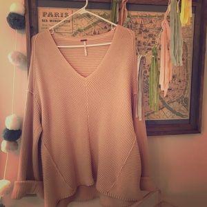 Free People sweater (more blush than cream)